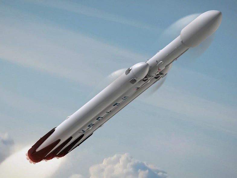SpaceX wants to send two rich people to the moon by 2018