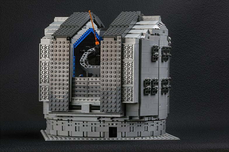 You Can Now Build Giant Space Telescopes Out of LEGOs