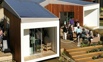 """20 Teams Build High-Tech Houses in """"Solar Village"""" Competition"""