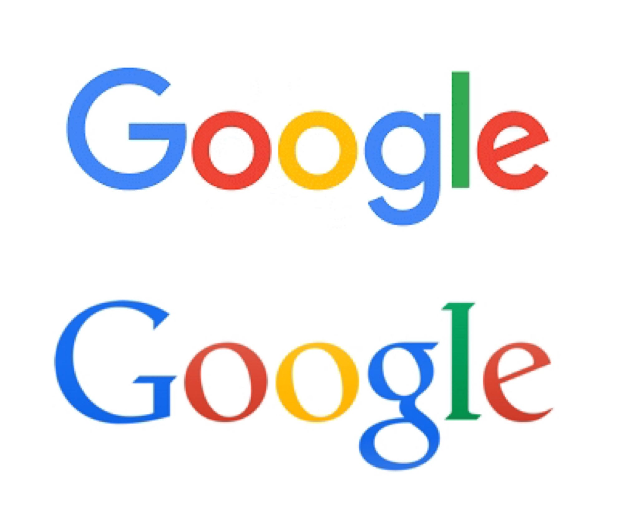Google Unveils New, Flatter Logo For The Post-PC World