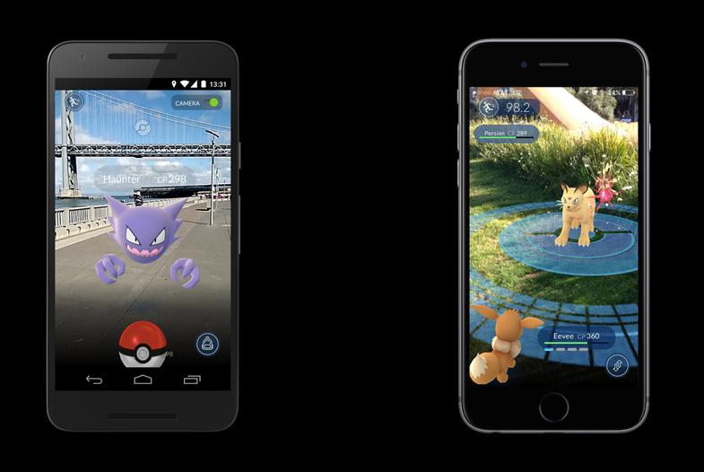 Pokémon Go gameplay