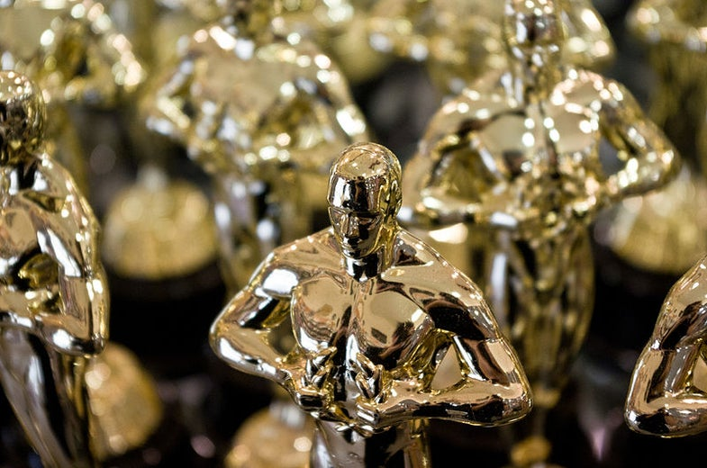 What If Oscars Were Made Of Solid Gold?