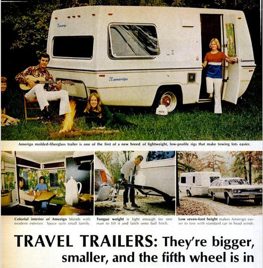 Travel Trailers For Your Small Car: March 1972