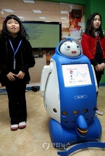 South Korean Robot English Teachers Are Go
