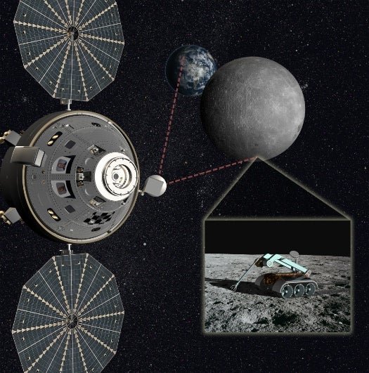 In Midst of Budget Woes, NASA Contemplates a Manned Waypoint In Orbit Near the Moon