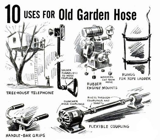 Garden Hose: July 1955