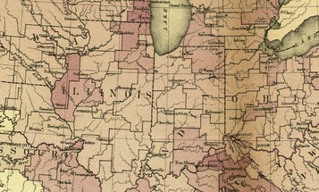 For Philandering Time Travelers, A Map Of Syphilis During The Civil War