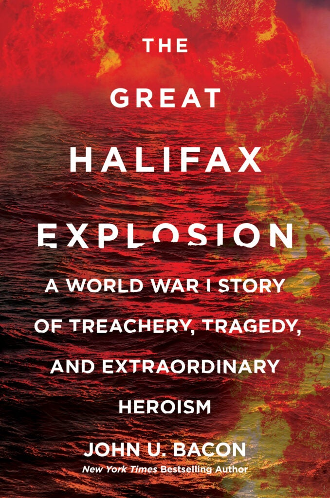 great halifax explosion cover