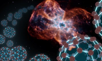 Spitzer Telescope Finds First-Ever Buckyballs in Space