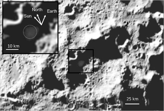 'Moon Bombing' Data Shows South Pole Crater is Wetter Than Some Parts of Earth