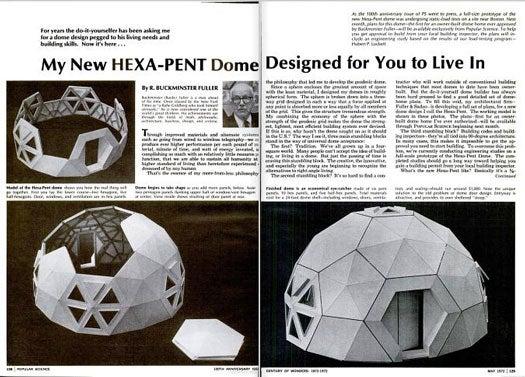 Hexa-Pent Dome: May 1972