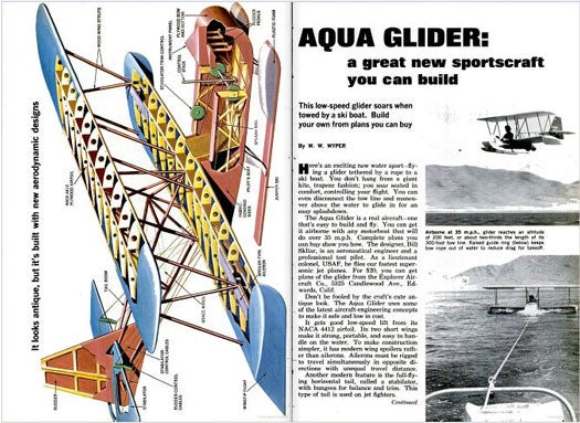 Build Your Own Aquaglider: August 1967