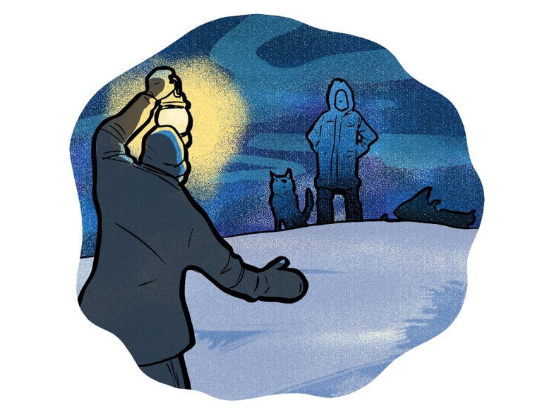 Do People Who Grow Up In The Arctic See Better In The Dark?