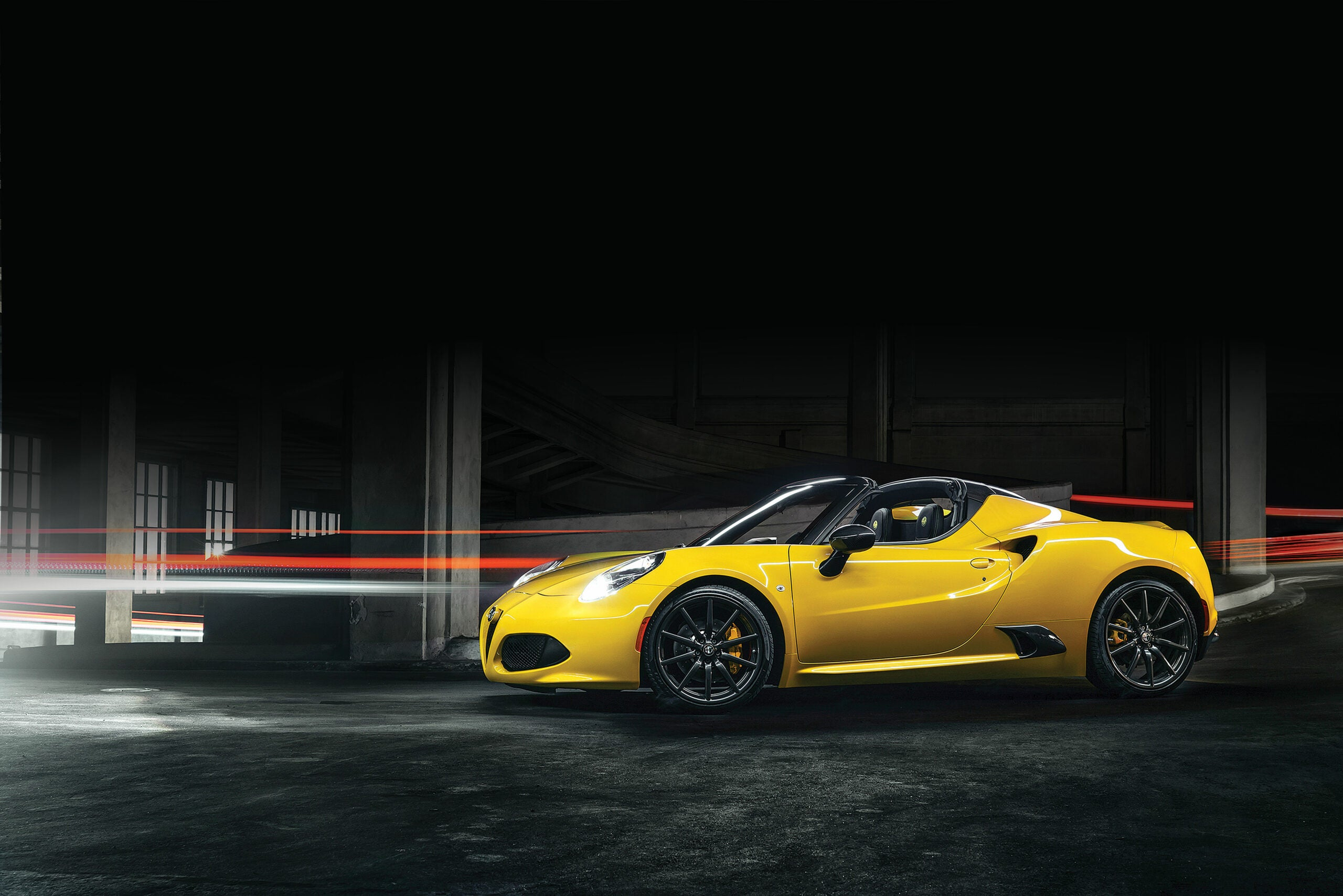 Alfa Romeo's 4C Spider Is A Lightweight Sports Car Without The Sacrifices