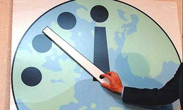 Bulletin of Atomic Scientists Turns Back Doomsday Clock, Gives Us An Extra Minute To Live