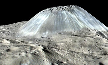 Ceres' ice volcanoes might have oozed into oblivion