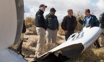 This Is Why Virgin Galactic's SpaceShipTwo Crashed, According To The NTSB