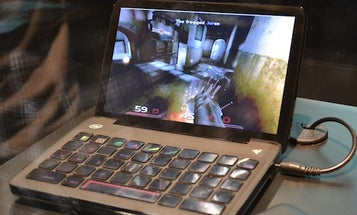 Razer Switchblade Gaming Netbook Changes Its Keyboard for Every Game