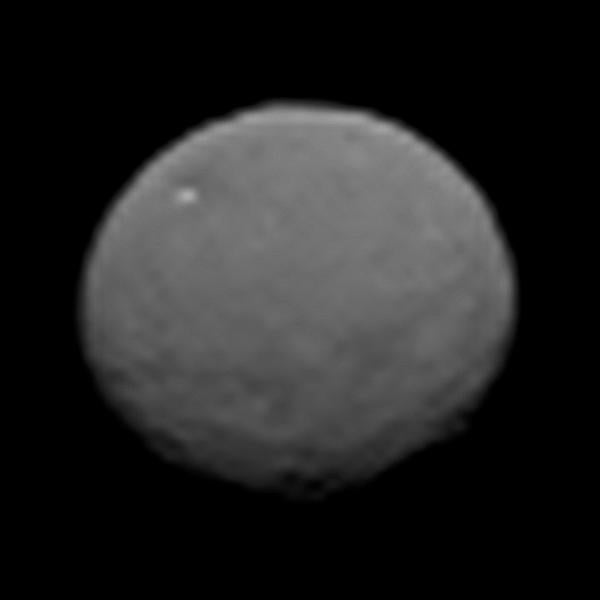 Dawn Gets A Close-Up Of An Ex-Planet