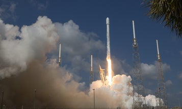 SpaceX rockets crash and burn in this spectacular blooper reel