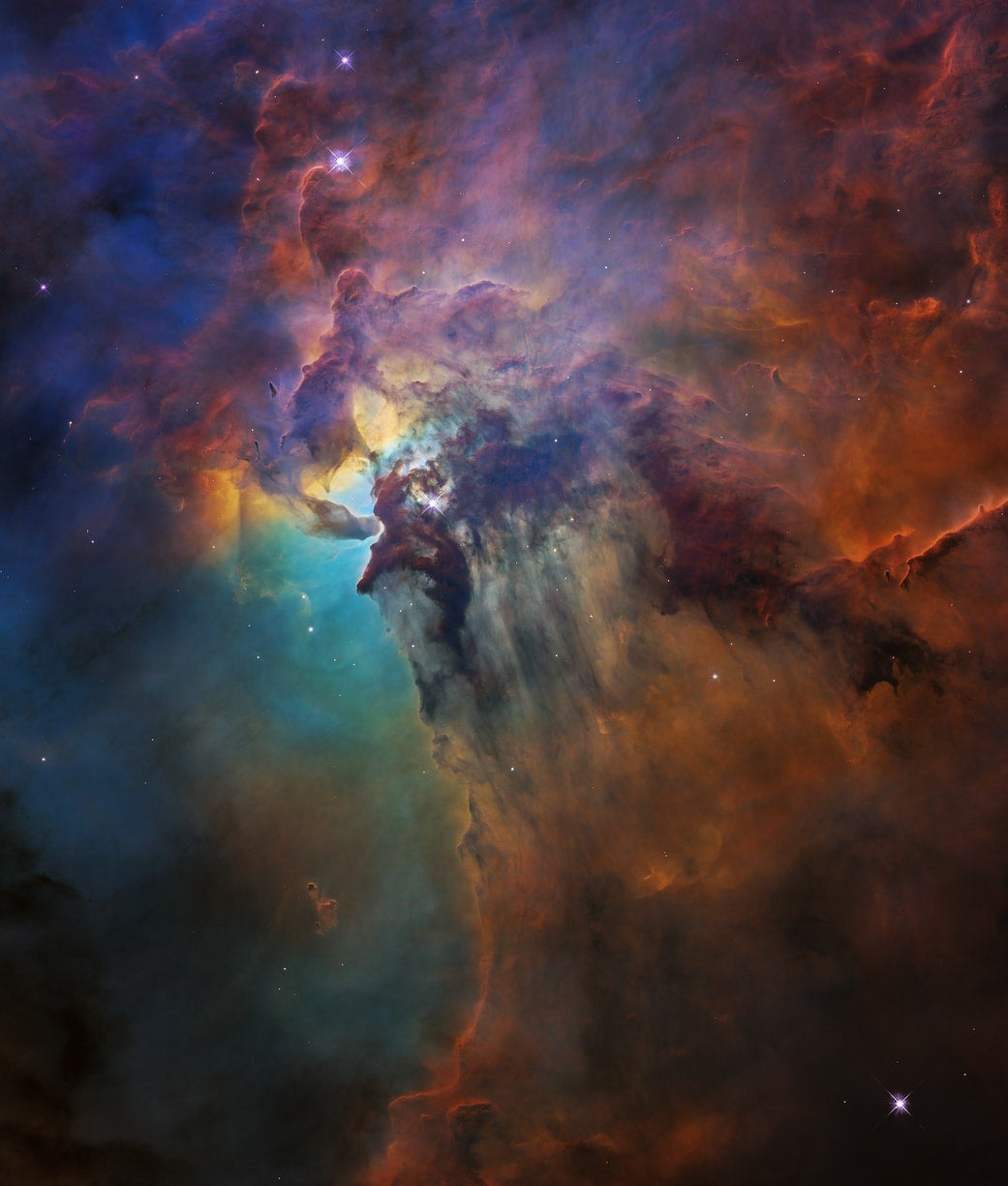 Here's an amazing new picture of the Lagoon Nebula to celebrate Hubble's 28th birthday