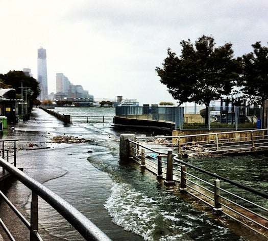 A Look At Instagrams Of Hurricane Sandy In Real Time