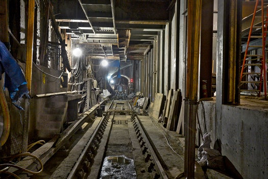 Inside The Construction Of New York City's New Subway