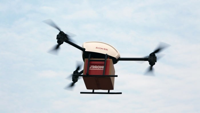 Chinese delivery JD.com Drone
