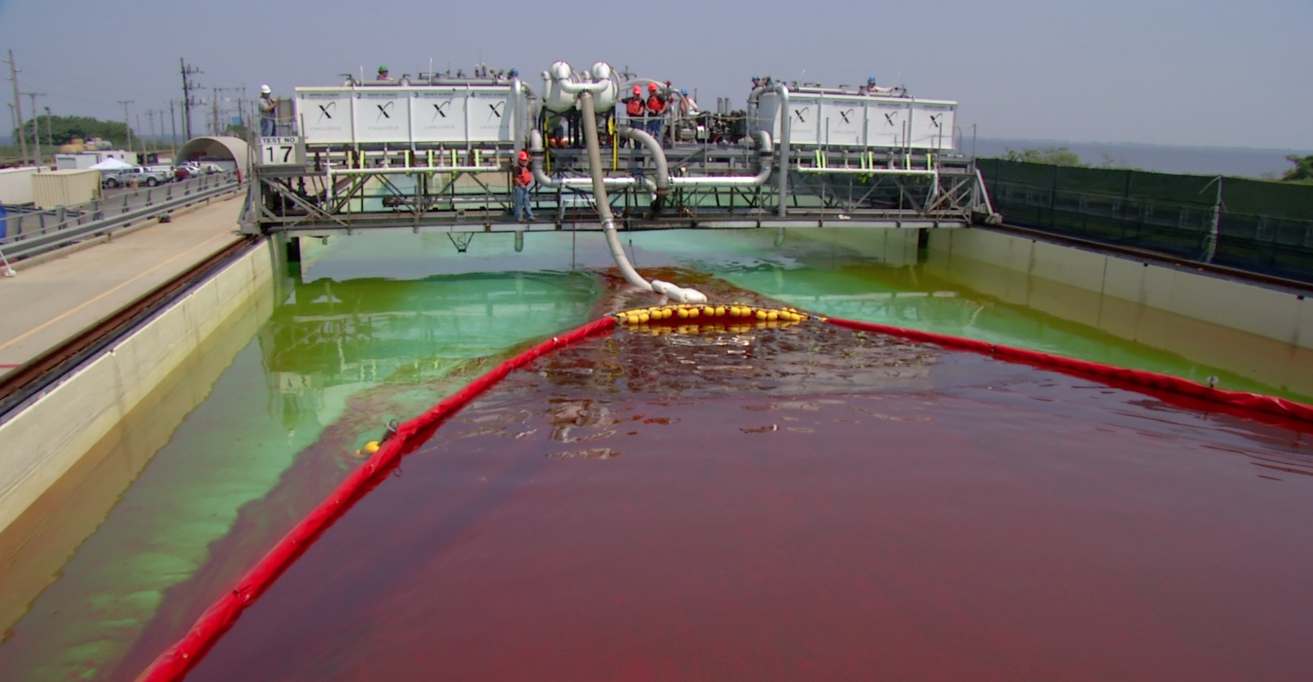 Winner of Million-Dollar X Challenge Cleans Up Oil Spills Three Times Better Than Existing Tech