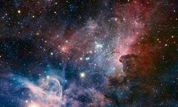 Pretty Space Pics: The Carina Nebula 'Dramatically' Captured in Infrared