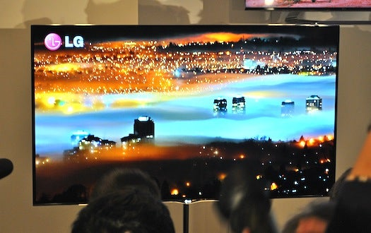 LG's 55-Inch OLED TV Will Be Available (to Extremely Rich People)