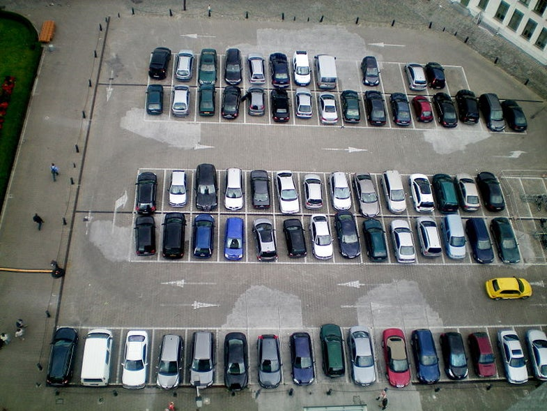 Car Navigation Systems Could Show Available Parking Spots