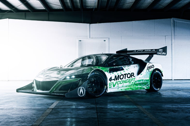 Electric NSX Will Take on Pikes Peak