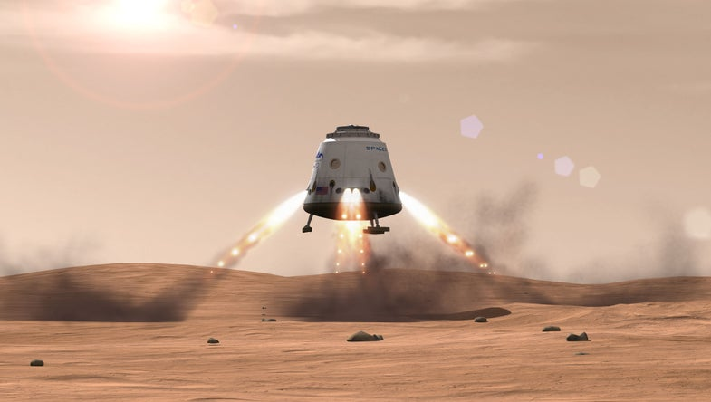 SpaceX Dragon Capsule Could Bring Soil Samples Back From Mars