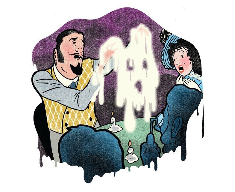 What's the Deal with Paranormal Ectoplasm?