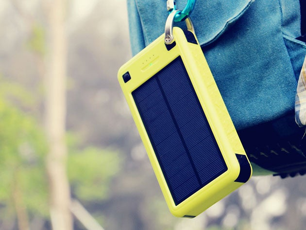 This monster solar battery pack can survive every outdoor adventure
