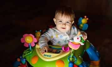 Baby walkers have never been safe. Why are companies still selling them?