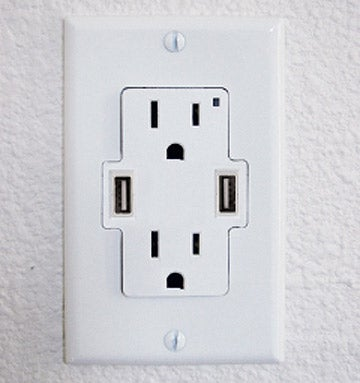 It's About Time: Power Plug Wall Sockets WIth USB Ports Built In
