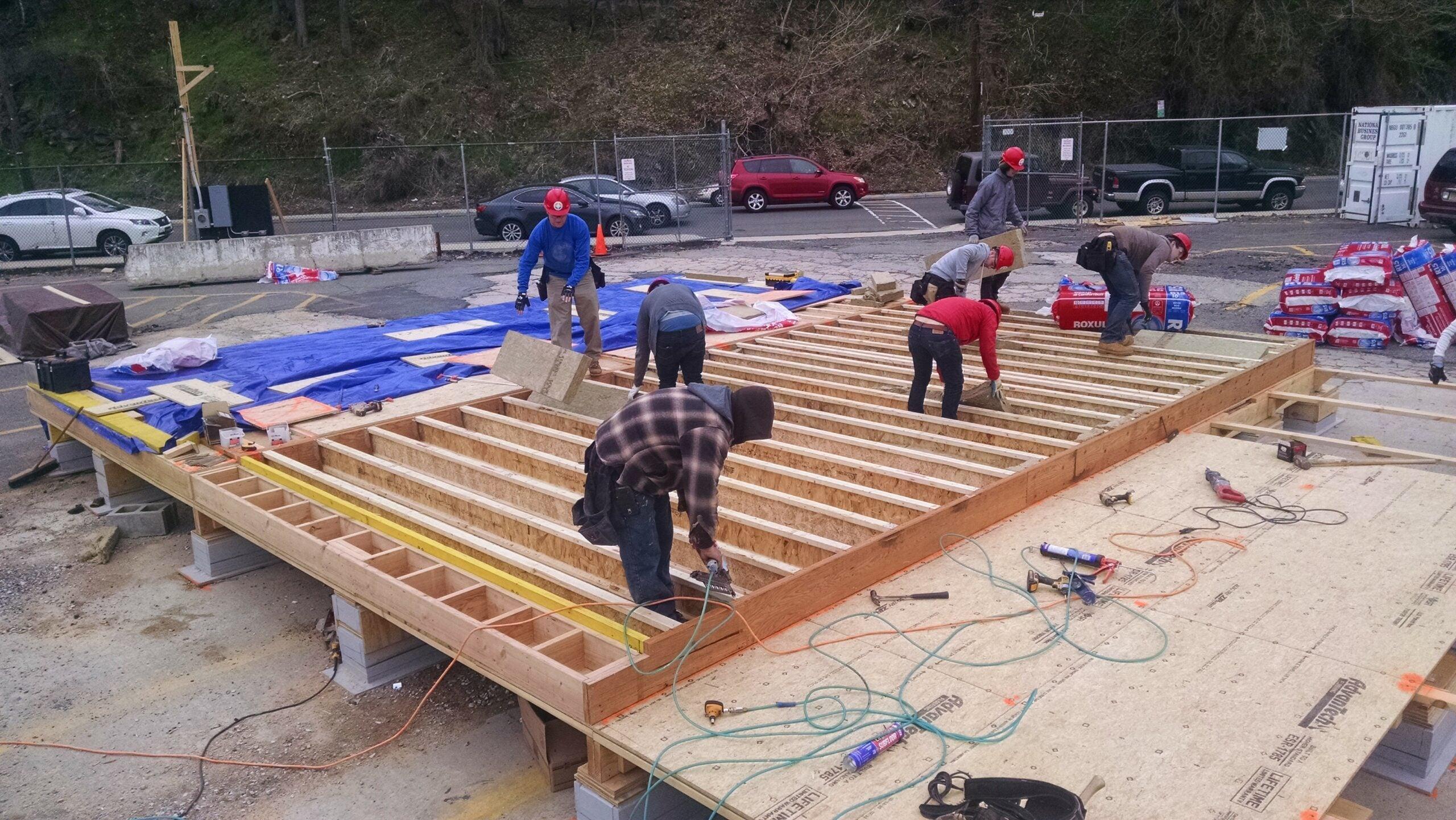 SURE Construction: 02 Floor Framing
