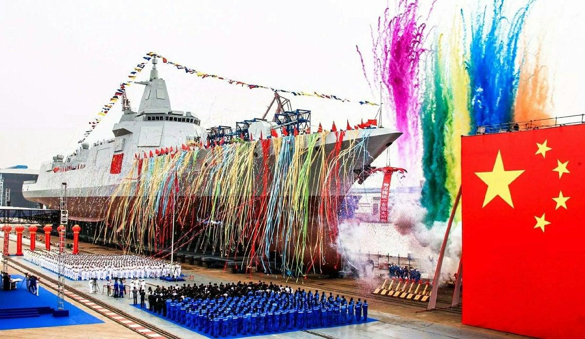 Type 055 Renhai Destroyer DDG Cruiser China