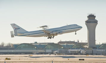 Phantom Ray Drone Makes Its First Flight, A Piggyback Ride On A Shuttle-Carrier 747