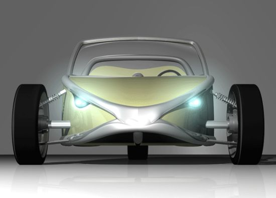 Designers Envision a Future of Citrus-Powered Hot Rods