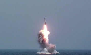 North Korea Test-Fires Another Missile From A Submarine