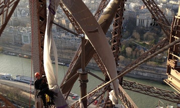 See The Eiffel Tower's Gorgeous New Wind Turbines