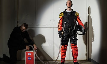 DIY Space Suit Chosen For Suborbital And Supersonic Flights