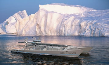 Solar-Powered Boat Preps For Around-The-World Trip