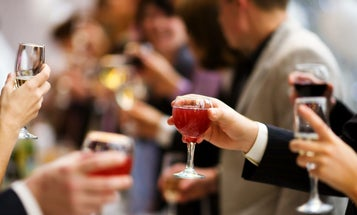 Your risk of cancer likely increases with each additional drink of alcohol