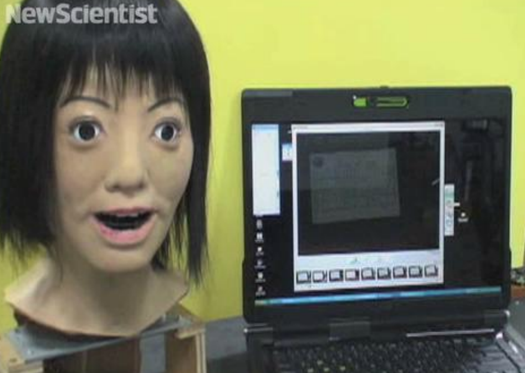 Video: Humanoid Robot Head Reads and Memorizes Musical Scores, Then Breaks into Song