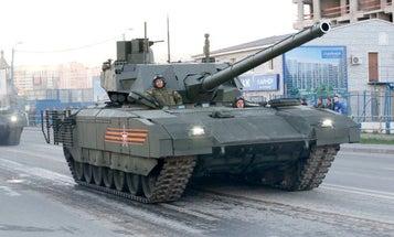 Russia's Great New Tank Breaks