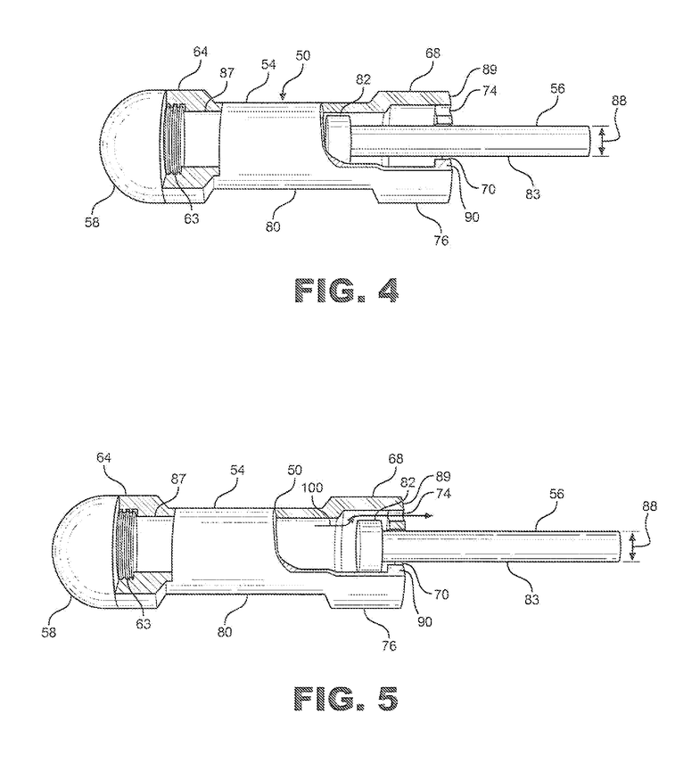 Caseless projectile and launching system
